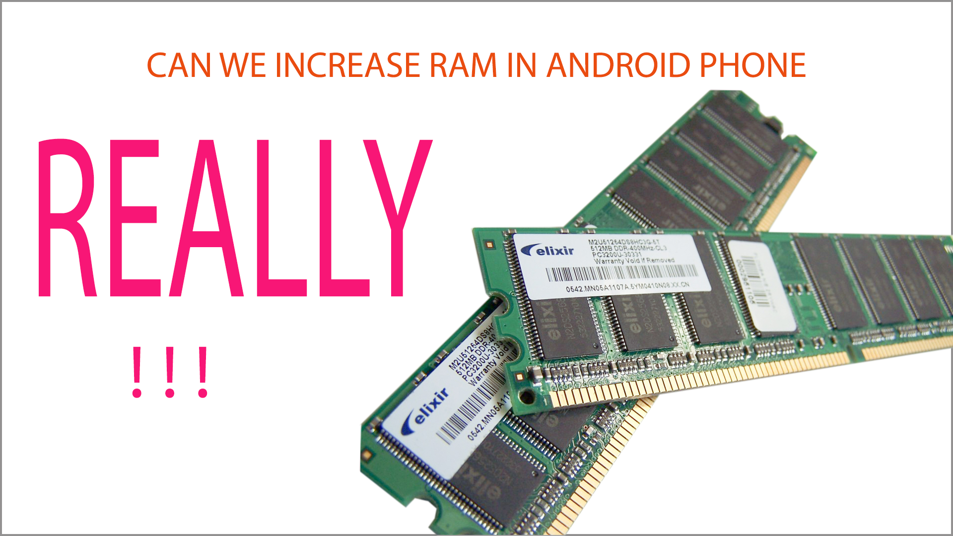 Can We Increase Ram In Android Phone Tech In All