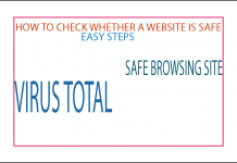 Safe Site Checker >> How To Check Whether A Site Is Safe Tech In All