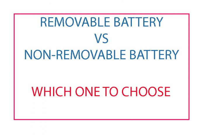 removable battery vs non-removable battery