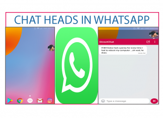 chat heads in whatsapp