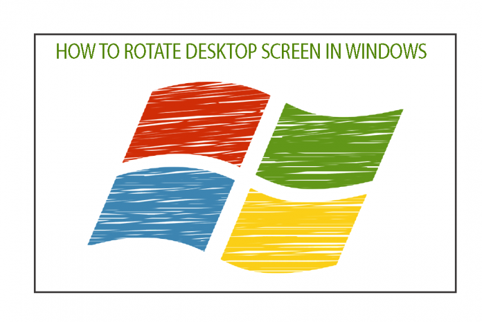 rotate windows screen