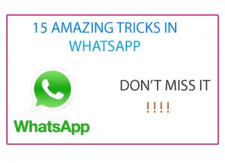 amazng whatsapp tricks
